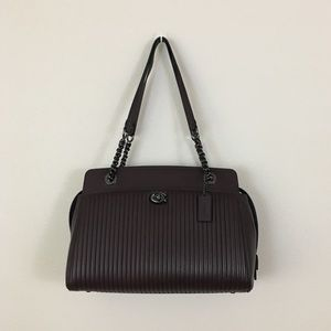 Coach quilted parker carryall bag